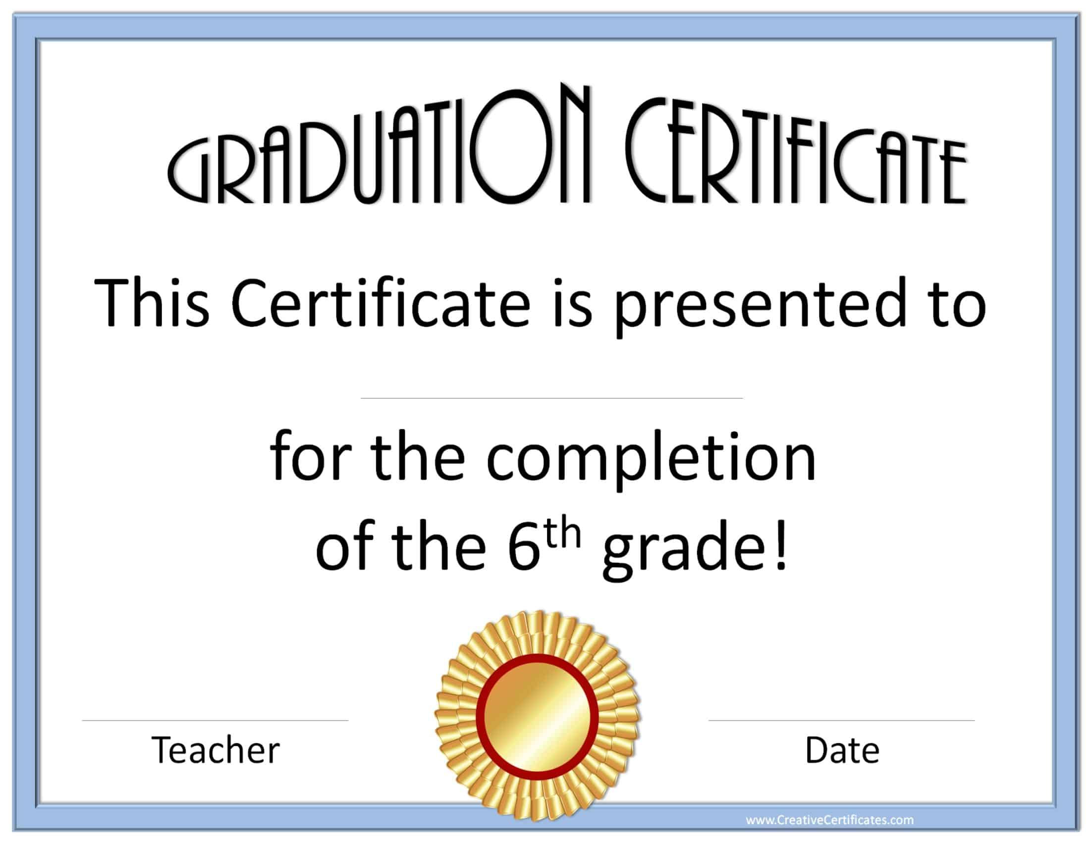 star student certificate template – Student Certificate Template