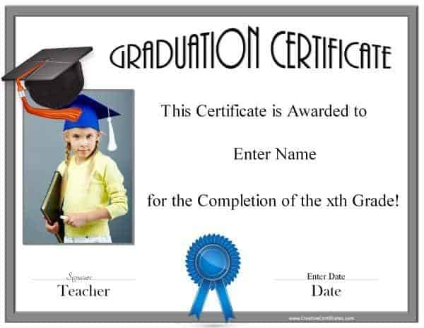 Free Graduation Certificates and Templates
