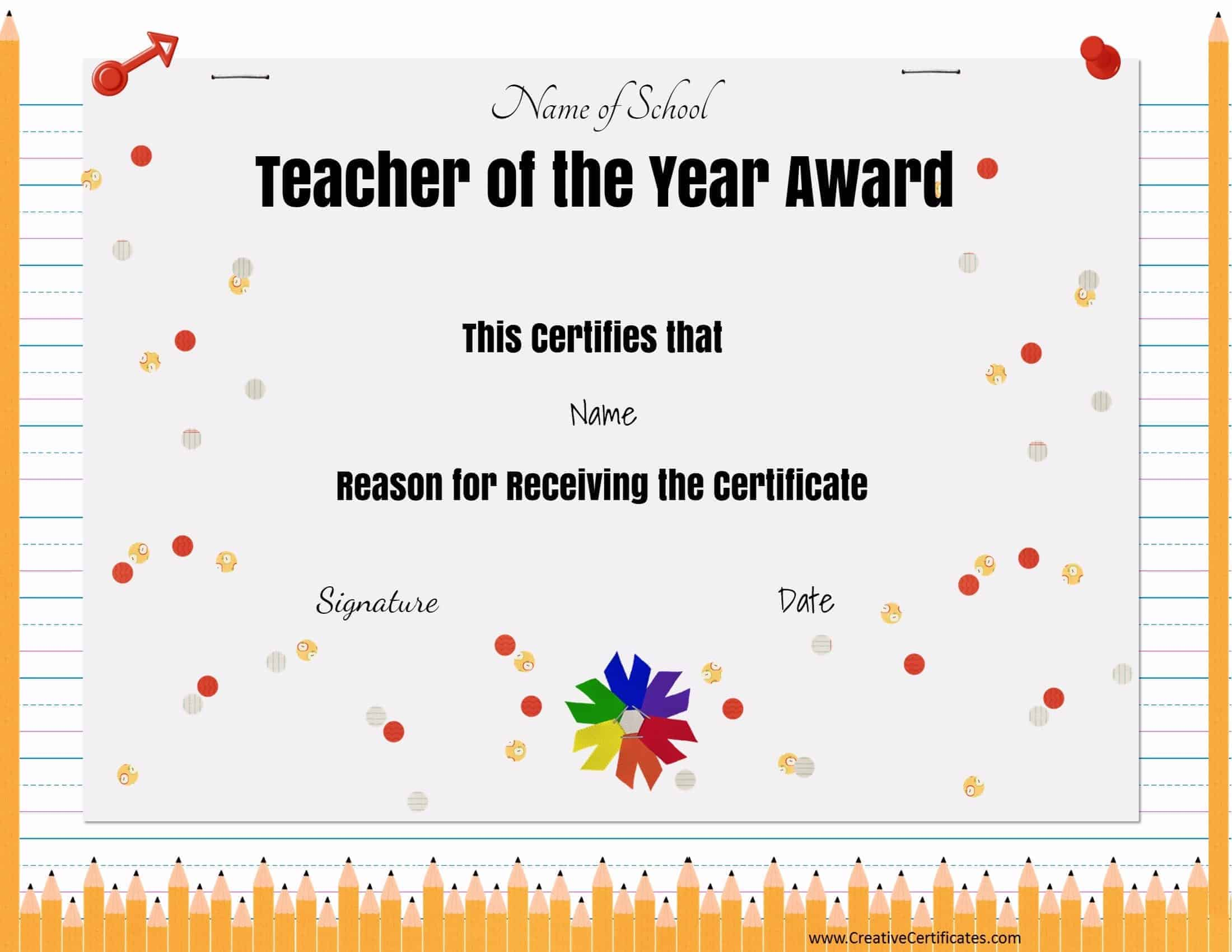 free teacher awards