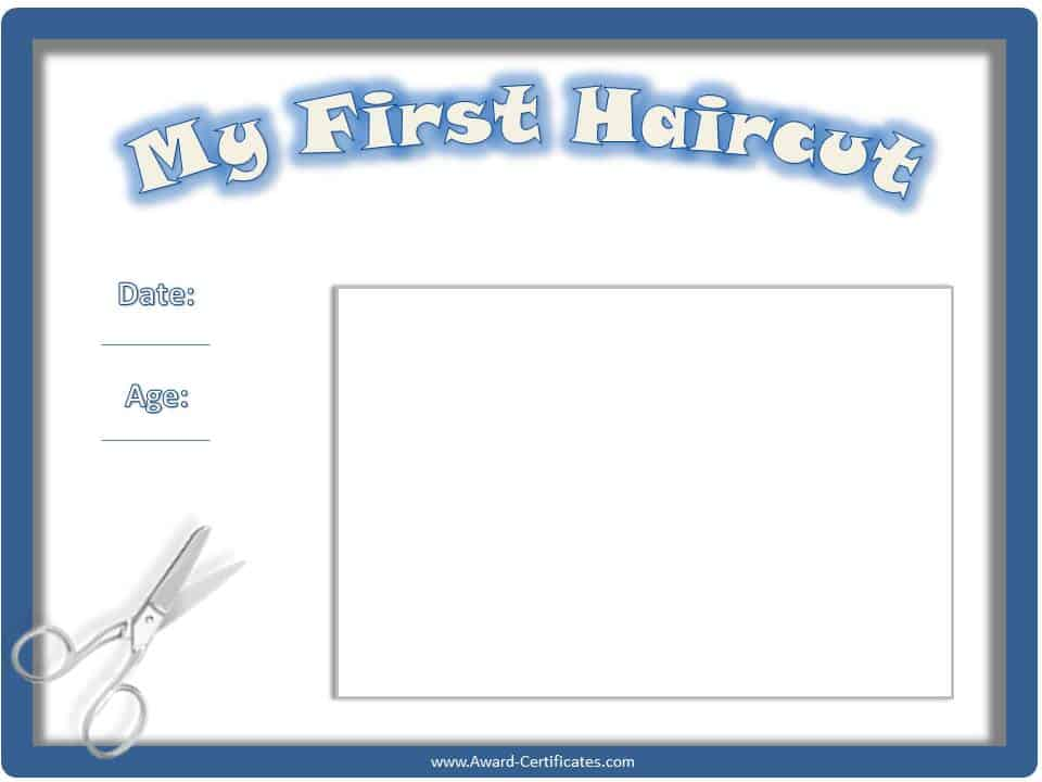 First haircut template images for Haircut templates