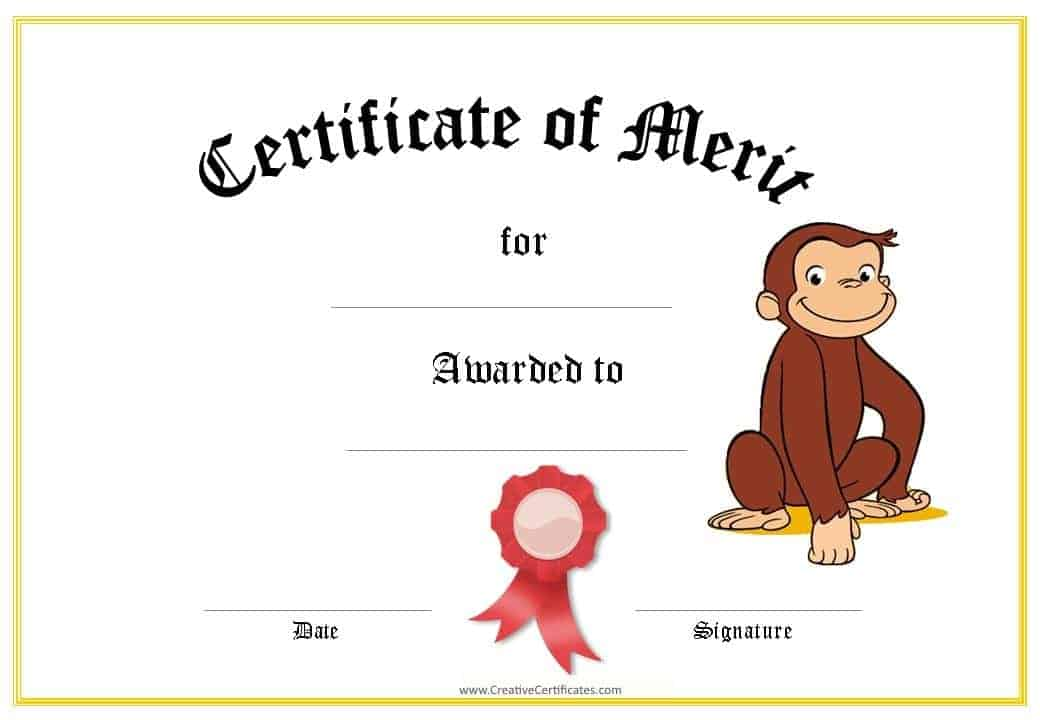 award certificates templates for kids this printable certificate can
