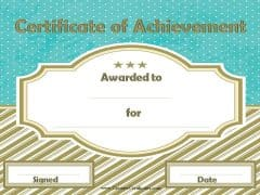 free online certificate templates