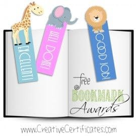 classroom prizes for teachers - bookmarks with encouraging words