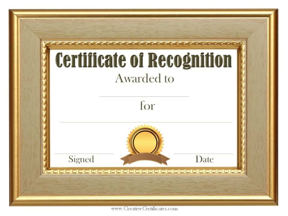 Certificate of Appreciation Template - 2020site.org