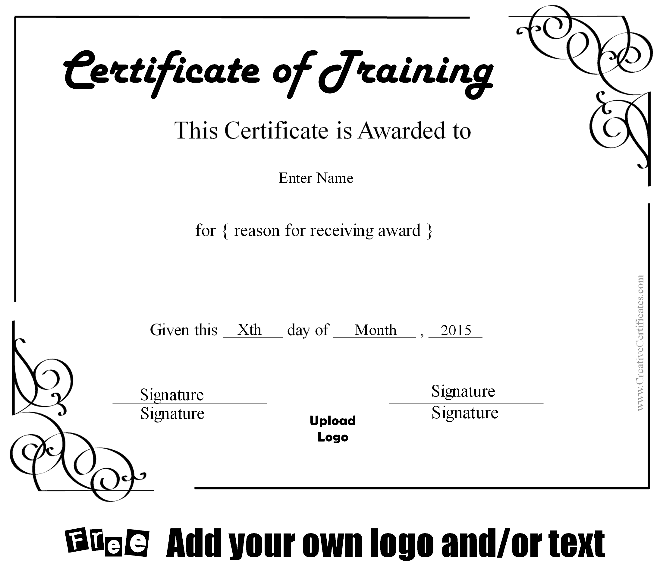 army certificate of training template – Army Certificate of Achievement Template