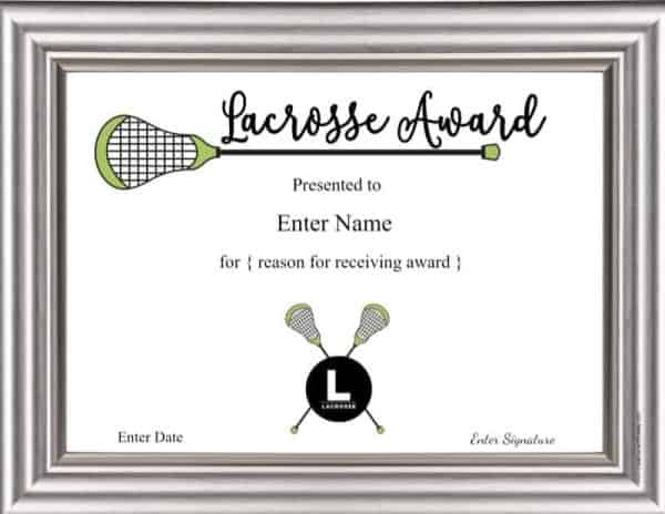 Lacrosse awards