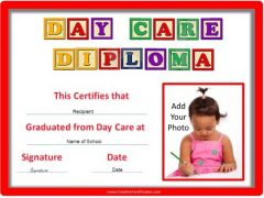 Day care diploma