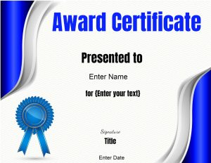 certificate images