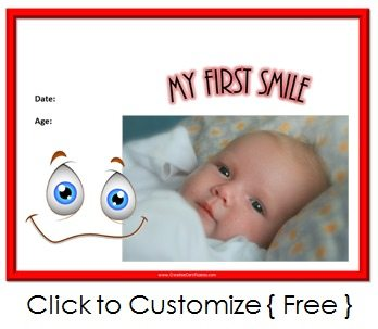 my first smile
