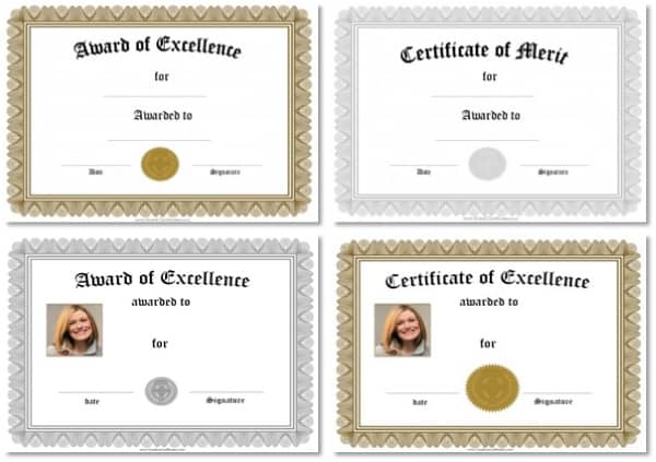 Free Certificate Templates Edit Online Print At Home Instant