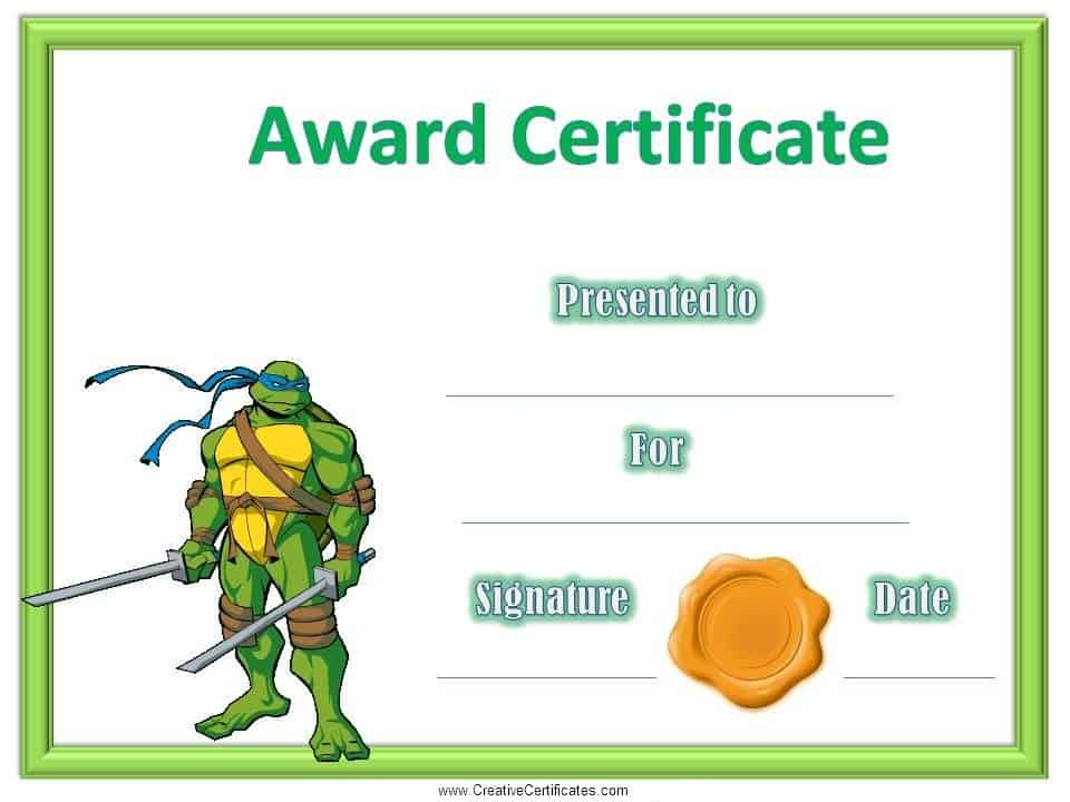 bravery certificate template - bravery award template certificates for kids free and
