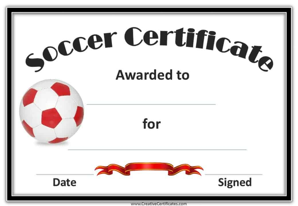 Childrens certificates free and customizable instant download sports certificate yadclub