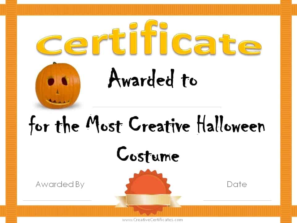 certificate templates free