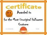 Funny Halloween Award