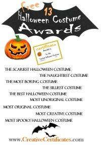 Halloween Awards