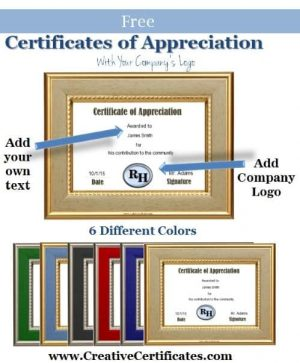 certificate-of-appreciation company logo