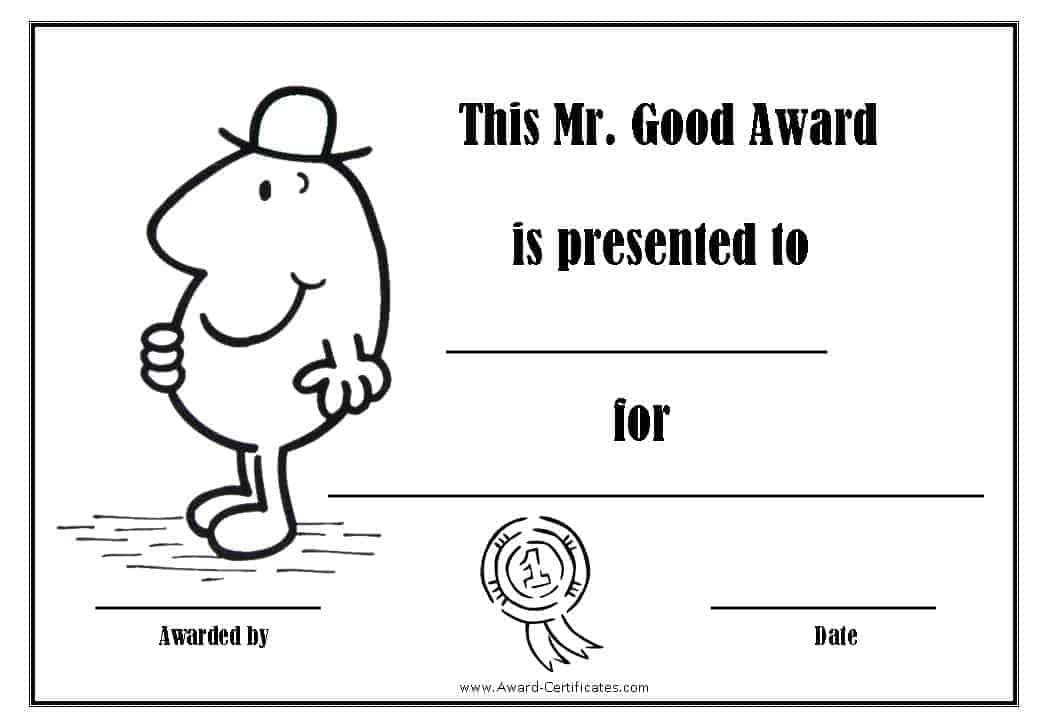 Free Printable Superlative Awards Customize Online All Text Is