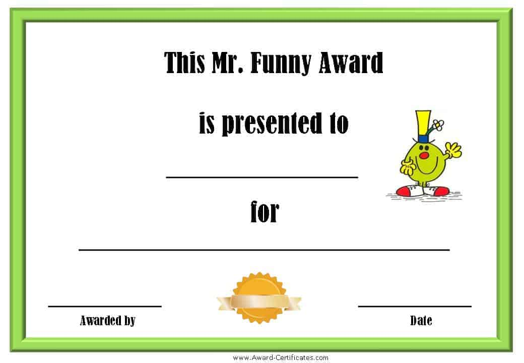 Free Printable Superlative Awards | Customize Online