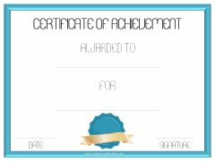 light blue border and blue ribbon