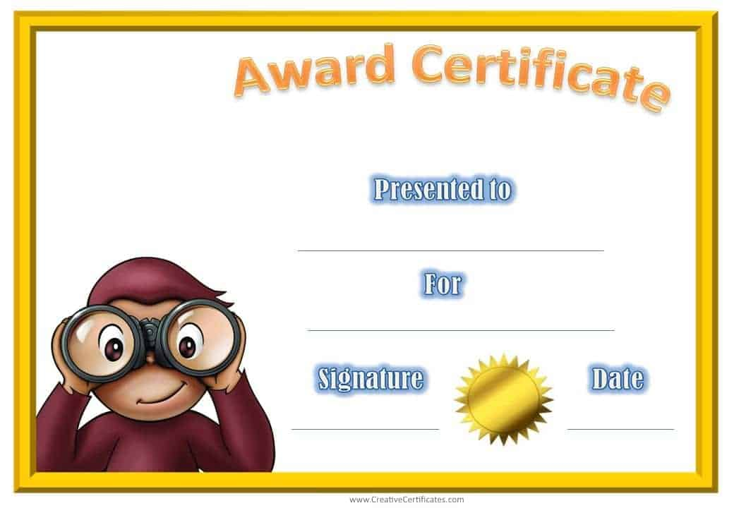 Image Result For Certificate Of Good