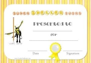 teacher resources - printable award certificates