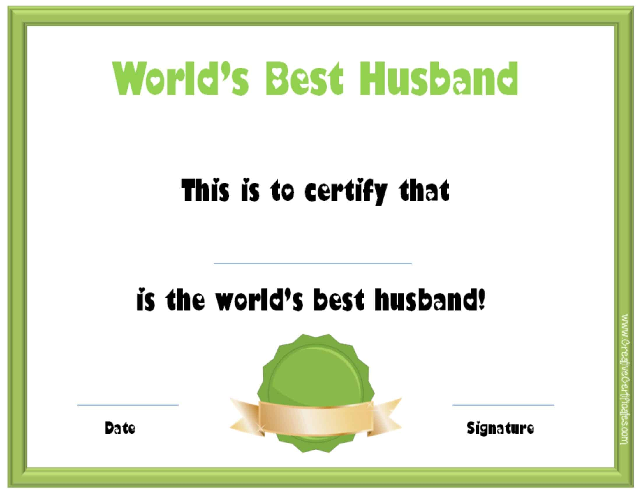 Valentine S Day Certificates