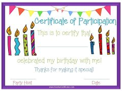 birthday party printable