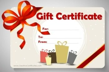 Free gift certificate template customize online and print at home birthday gift certificate template yadclub Image collections