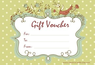 Gift voucher template free printable gift voucher templates yelopaper Gallery