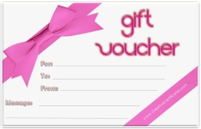 Marvelous Printable Gift Voucher In Gift Certificate Voucher Template