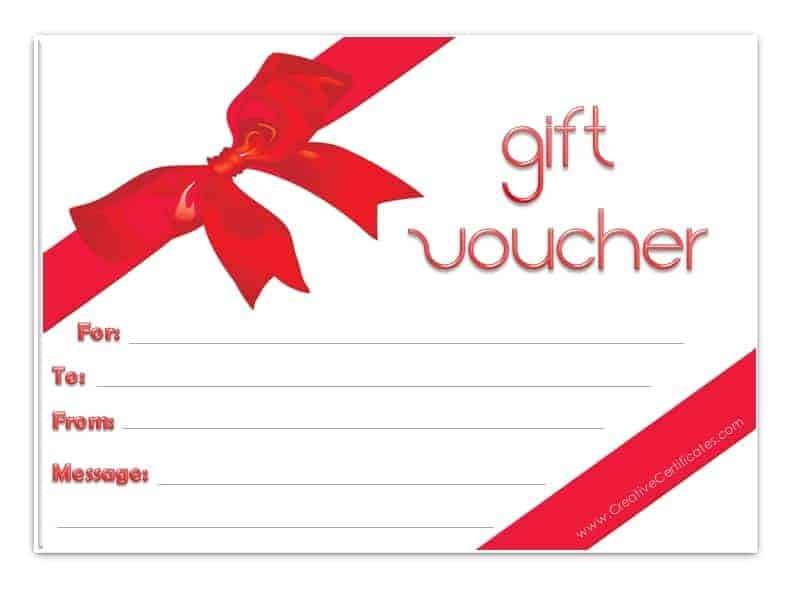 Gift voucher template for Avon gift certificates templates free