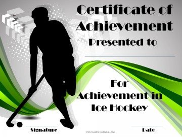 Ice Hockey Award