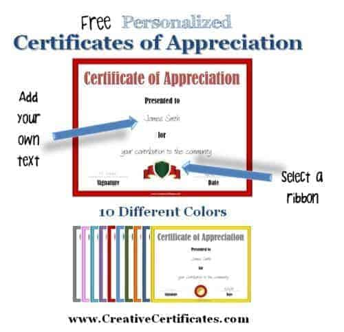Certificate of appreciation template certificate of appreciation template yadclub Images