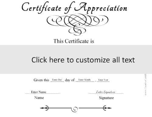 Certificate templates template to create a generic certificate in black and white yelopaper Image collections