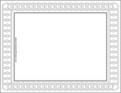Elegant Borders - Customize Online and/or Print - Free