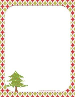 Free Christmas border