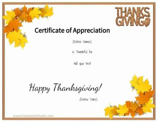 Thanksgiving printables thanksgiving printable with leaves in the corners yadclub Choice Image