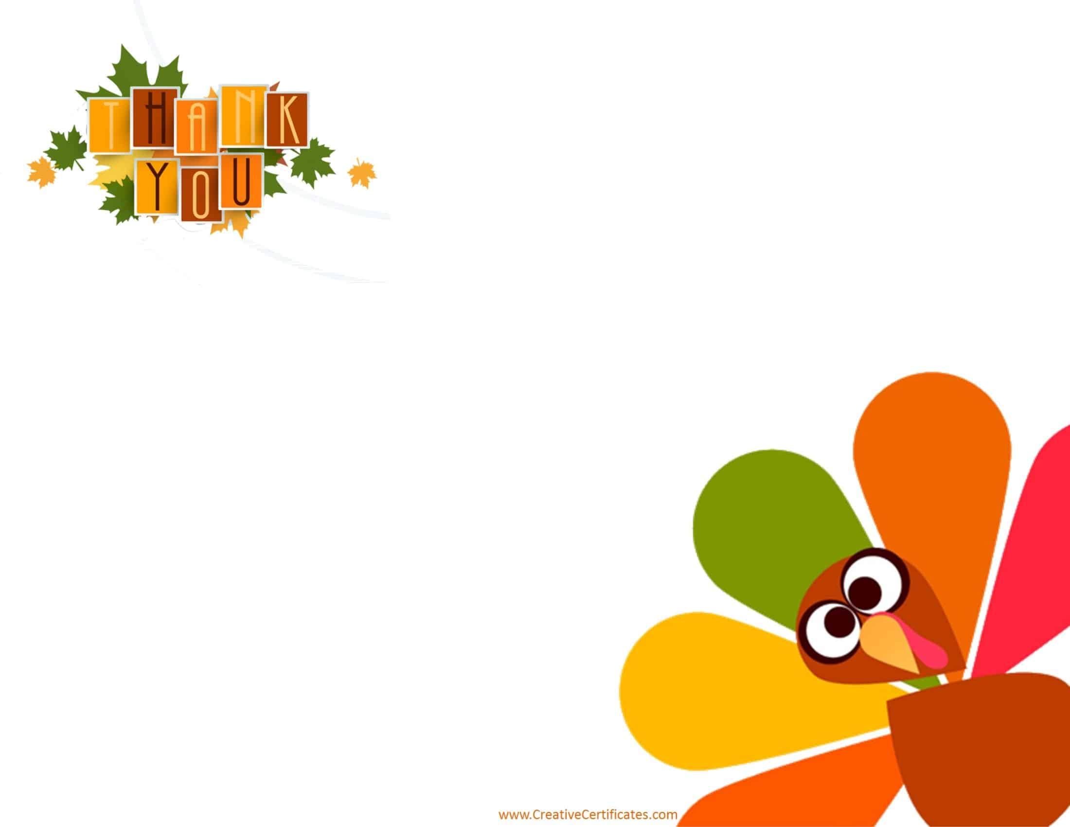 Free Thanksgiving Border Templates Customizable Amp Printable