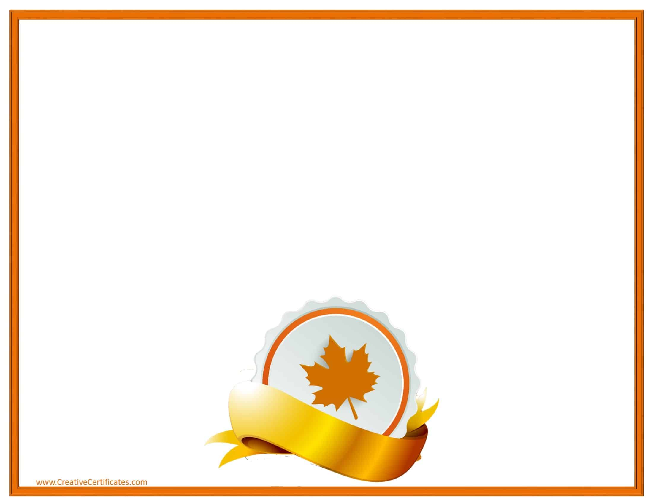 Free Thanksgiving Border Templates Customizable Amp Printable