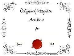 printable certificate templates (low ink)