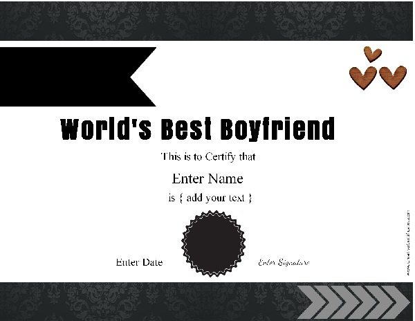award for your man