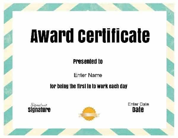 funny office award funny awards