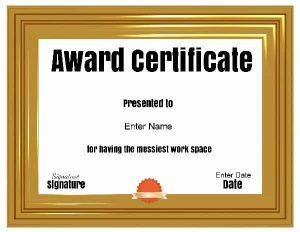 funny award idea