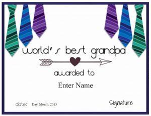 best grandfather award