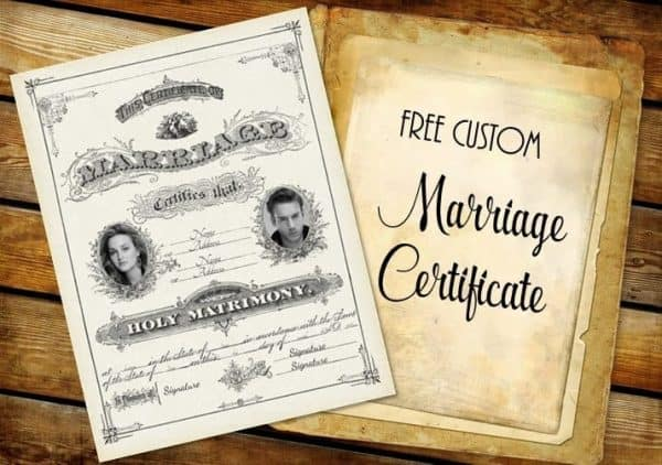 Marriage certificate template marriage certificate template free free marriage certificate template yadclub Image collections