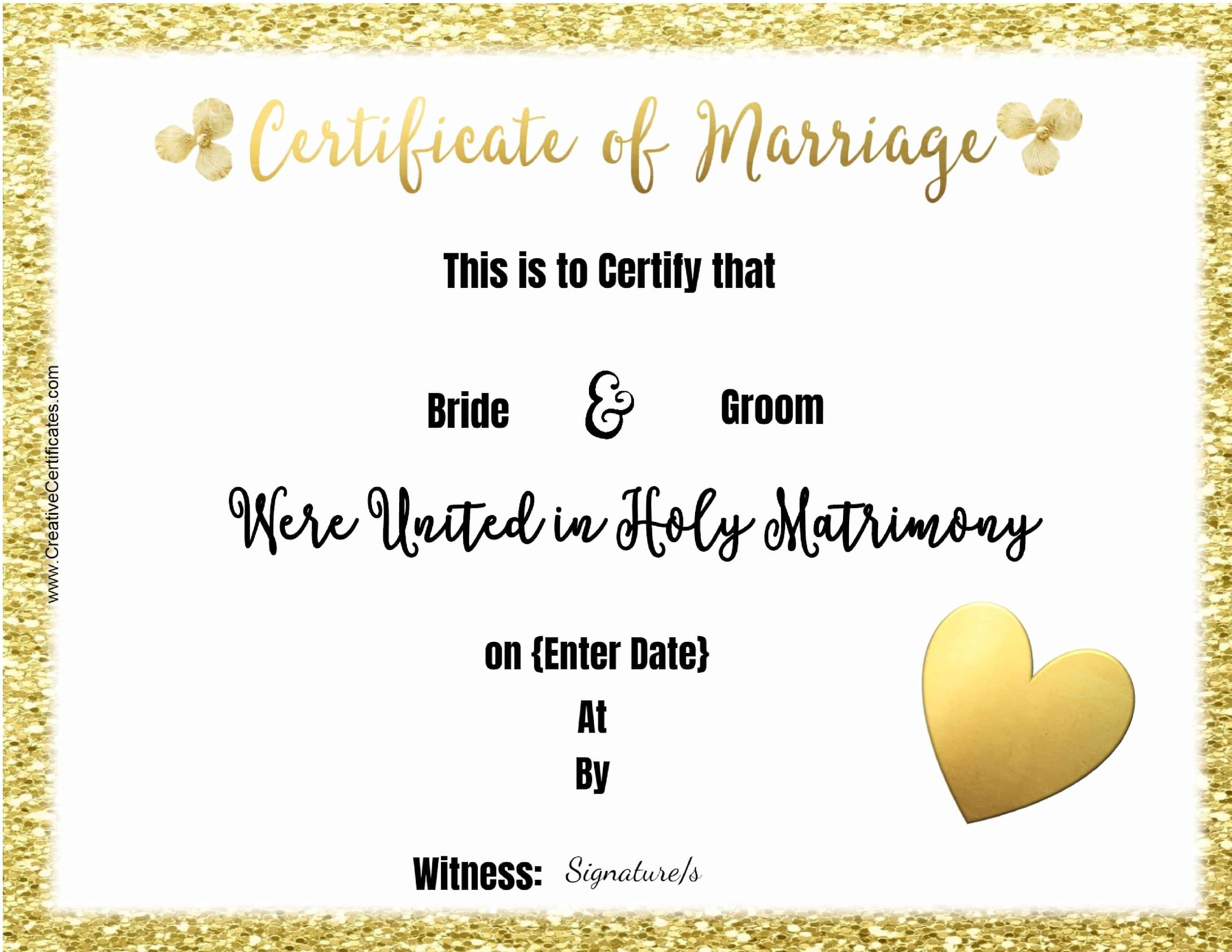 Free marriage certificate template customize online then print marriage certificates to print yadclub Image collections