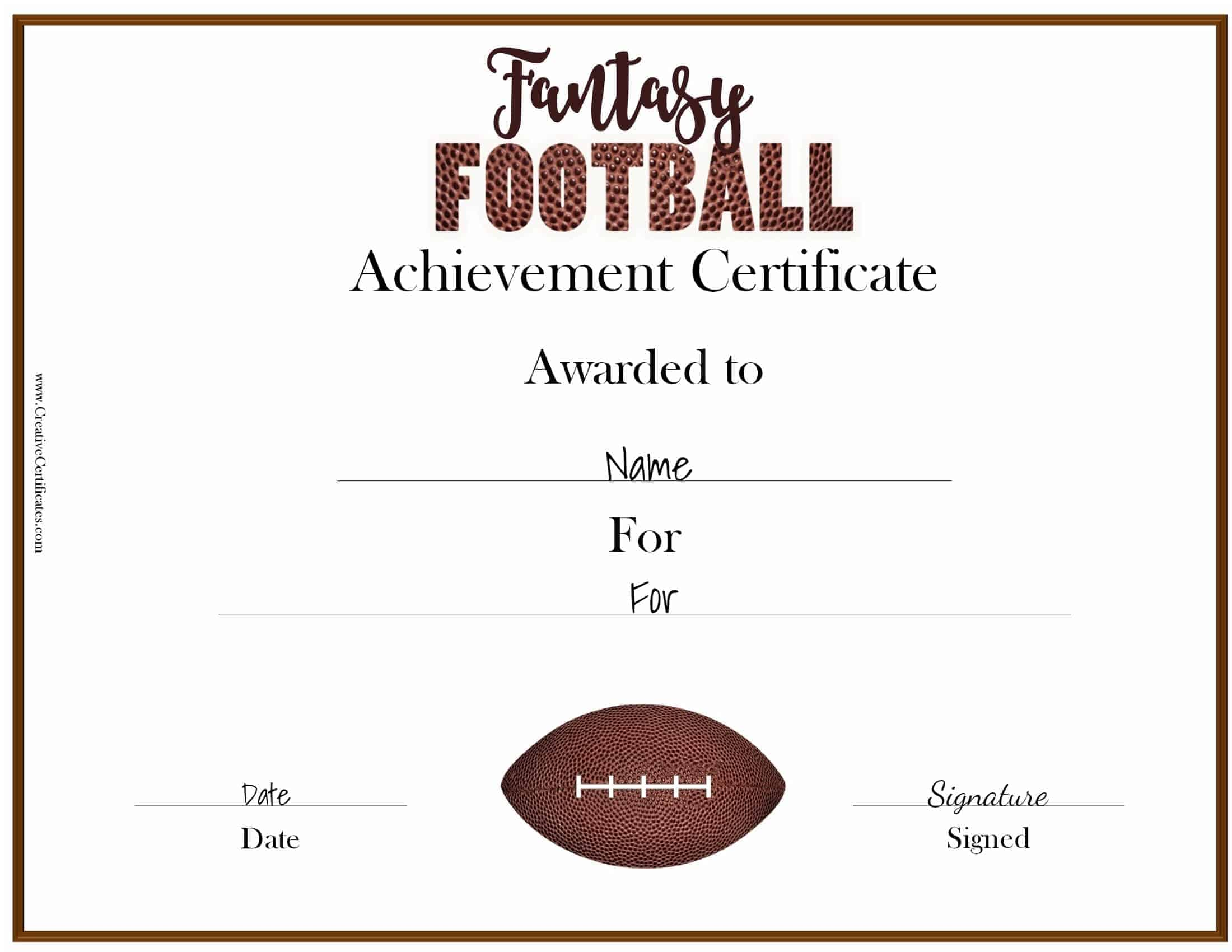 Fantasy football awards fantasy football award 1betcityfo Image collections