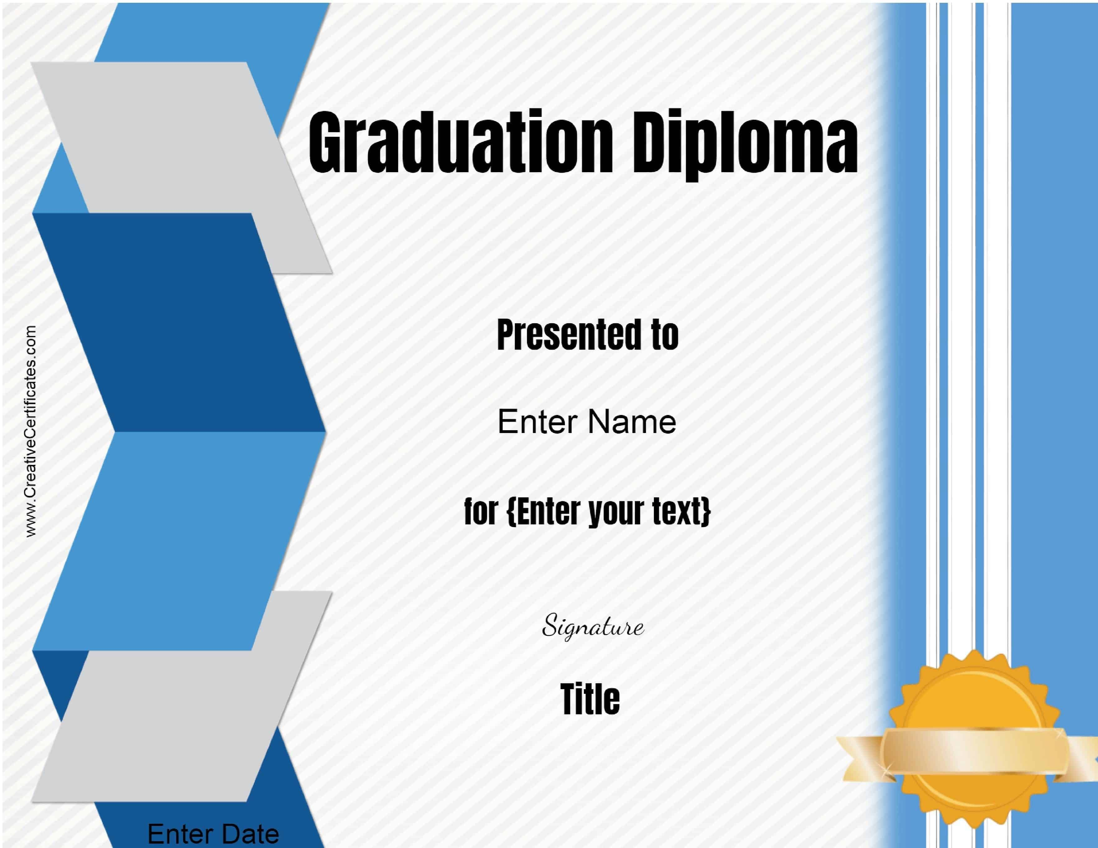 Diploma template certificate template 1betcityfo Gallery