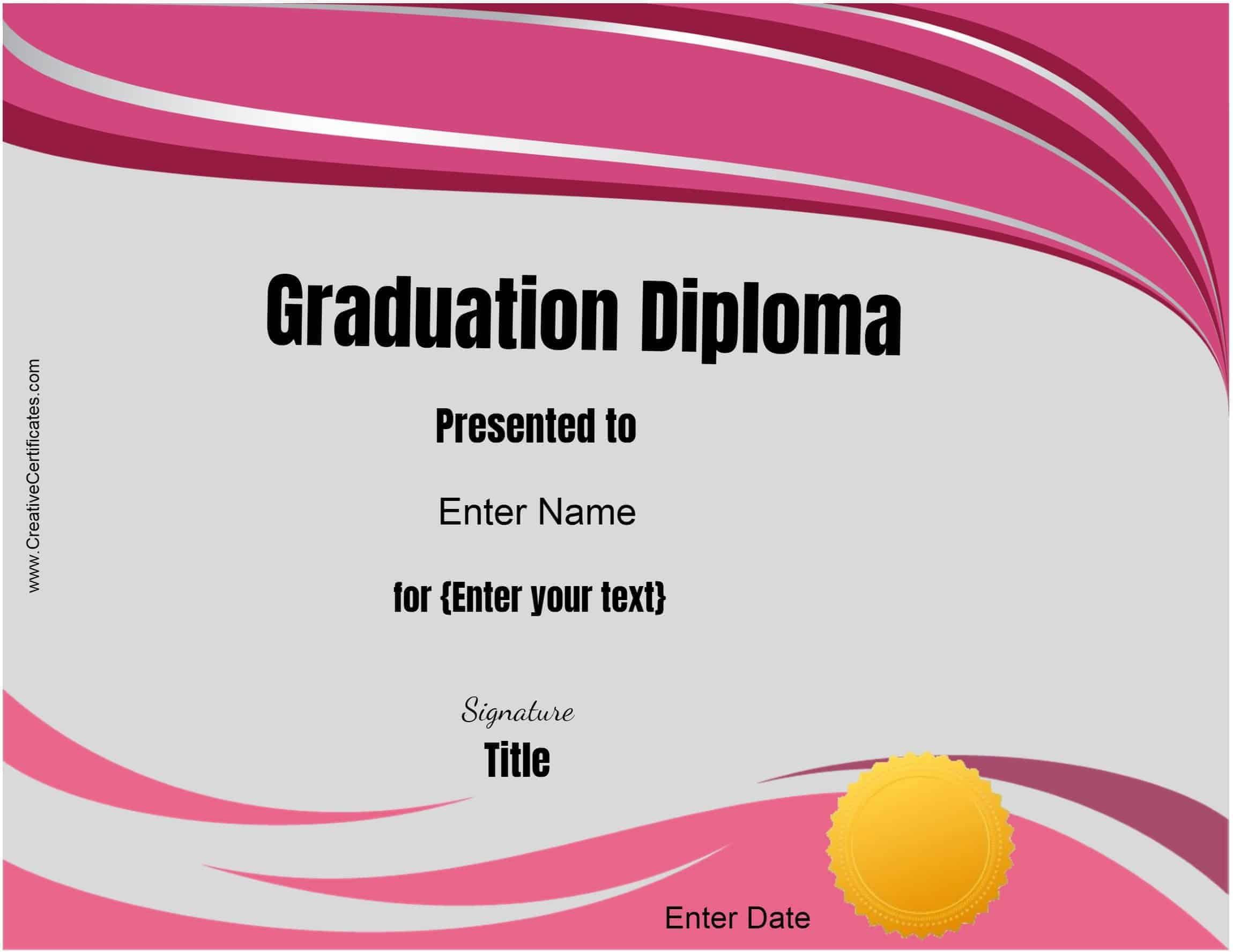 Diploma Template