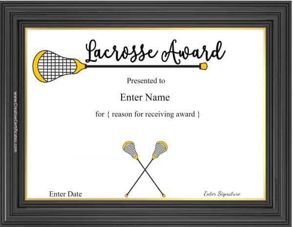 Lacrosse awards yelopaper Gallery